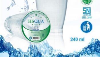 Ponpes Hidayatussalikin Produksi Air Minum Kemasan HS Qua