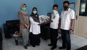 Tiga OPD Beltim Serahkan Karya Terbitan Daerah ke DKPUS Babel