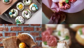 Donat Cantik Kreasi Atiek, Serasa Menikmati Kue Ulang Tahun