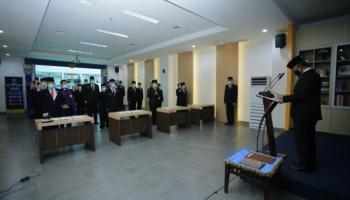 Cegah Covid-19, 21 Pejabat Baru BNN Dilantik Secara Fisik dan Virtual