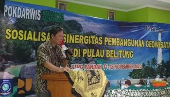 Pemprov Sosialisasikan Sinergitas Pembangunan Geopark Pulau Belitung