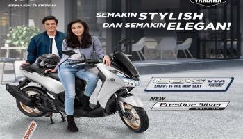 Tampil Semakin Elegan dengan Yamaha Lexi Warna Baru