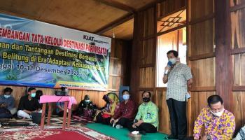 Pemprov Gelar Sarasehan Pengembangan Tata Kelola Destinasi Pariwisata