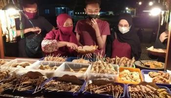 Angkringan Dieee Simpang Lima, Toboali Rasa Jogja
