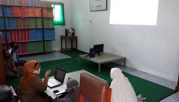 SMKN 2 Tanjungpandan Berharap Pembinaan Perpustakaan Dilakukan Kontinu