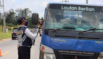 Dishub Bersama Ditlantas Polda Babel Sidak KIR dan ODOL di Bangka