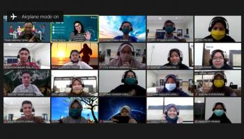 Global Communication Tingkatkan Kemampuan Bahasa Inggris Penerima Beasiswa PT Timah