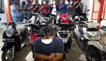 Korban Curanmor Senang Motornya Kembali: Terima Kasih Tim Buser Naga