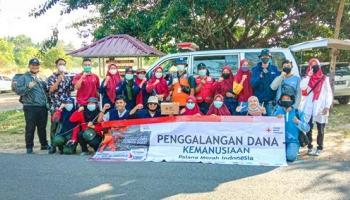 KSR IAIN SAS Bersama PMI Bangka Galang Dana Peduli Gempa Sulbar