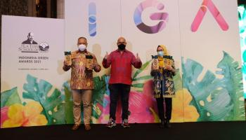 PLN Raih The Best Indonesia Green Awards 2021, Berikut 17 Kategori Penghargaannya