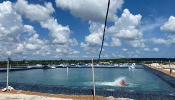 PLN Suplai Listrik Tujuh Tambak Udang di Pulau Bangka