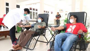 PMI Bangka Berhasil Kumpulkan 58 Kantong Darah di Riau Silip