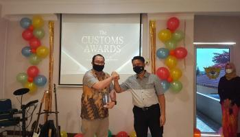 PT Timah Raih Dua Penghargaan di Ajang Customs Award Bea Cukai Pangkalpinang