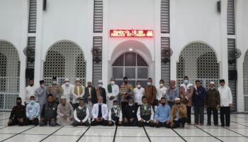 Silaturahmi dengan Ketua DMI dan Ketua Masjid, Ini Pesan Jenderal Anang Syarif