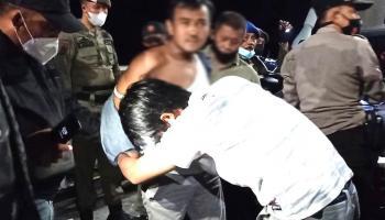 Simpan Ganja di Masker, Pria Asal Bangka Barat dan Teman Wanitanya Diamankan Polisi