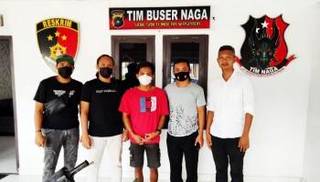 Takut Ditangkap Tim Buser Naga, Pelaku Pencurian Ini Pilih Menyerahkan Diri