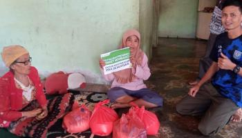 YAKESMA Bangka Selatan Kembali Salurkan Paket Sembako